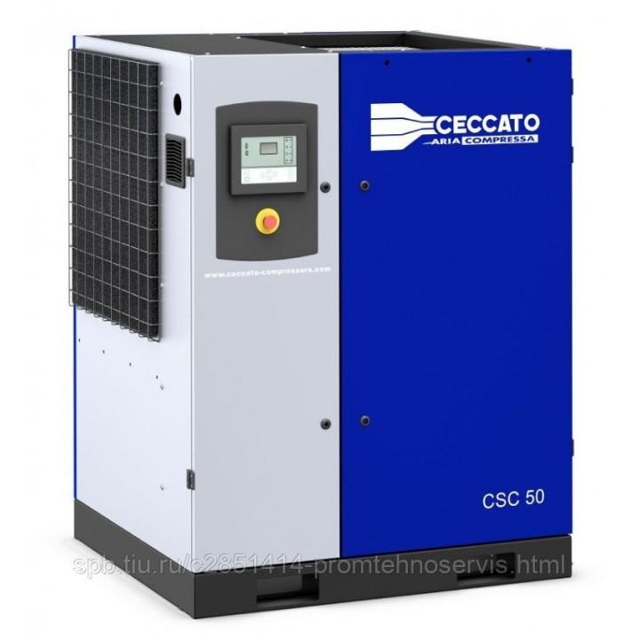 Винтовой электрический компрессор Ceccato CSC 60/10