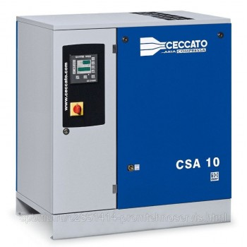 Винтовой электрический компрессор Ceccato CSA 10/10