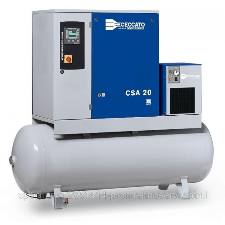 Винтовой электрический компрессор Ceccato CSA 20/10-500D