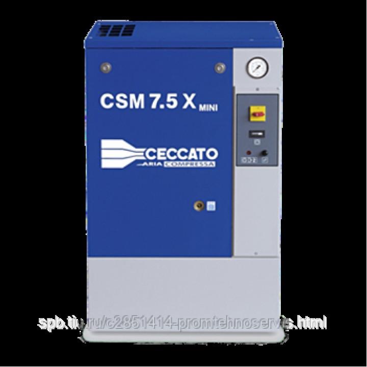 Винтовой электрический компрессор Ceccato CSM 7,5BX MINI 8 бар