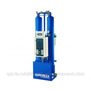 Осушитель адсорбционный REMEZA RMWE 2600 с горячей регенерацией