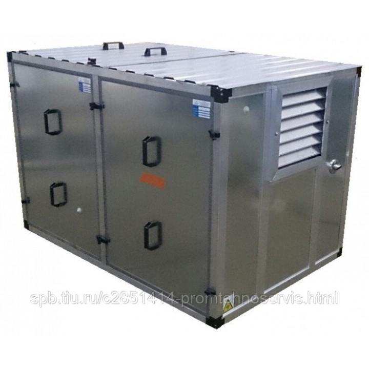 Дизельный генератор SDMO K 12 в контейнере с АВР
