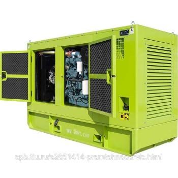 Дизельный генератор Doosan MGE 300-Т400 в кожухе