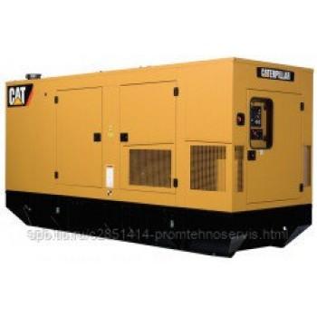 Дизельный генератор Caterpillar 3406 в кожухе с АВР