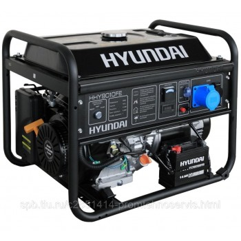 Бензиновый генератор Hyundai HHY 9010FE
