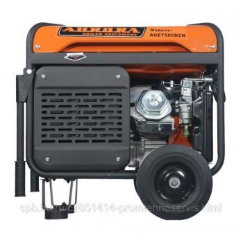 Бензиновый генератор Aurora AGE 7500 DZN с АВР
