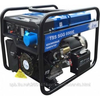 Бензиновый генератор ТСС SGG 6000E с АВР
