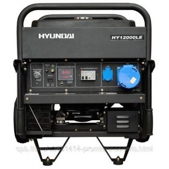Бензиновый генератор Hyundai HY 12000LE с АВР