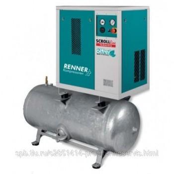Винтовой безмасляный компрессор RENNER SLD-S 7,5 250