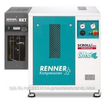Винтовой безмасляный компрессор RENNER SLK-I 3,7