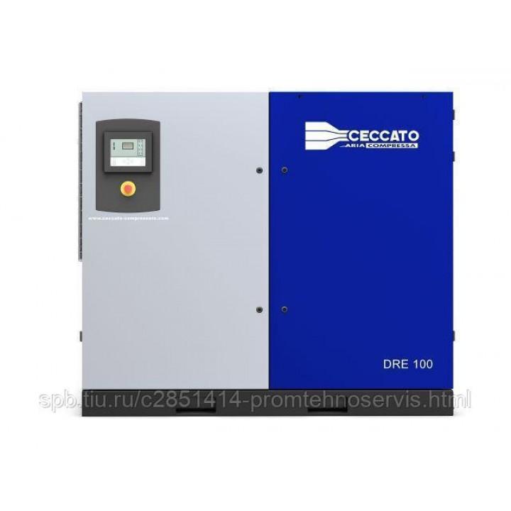Винтовой электрический компрессор Ceccato DRE 100/10