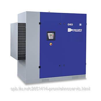 Винтовой электрический компрессор Ceccato DRD 75/10 DRY с осушителем