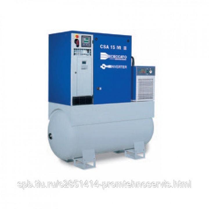 Винтовой электрический компрессор Ceccato CSA 15/10 500D IVR
