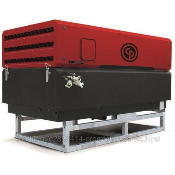 Передвижной компрессор Chicago Pneumatic CPS175 на опорах