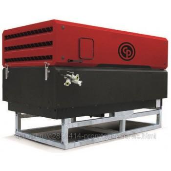 Передвижной компрессор Chicago Pneumatic CPS100 на опорах