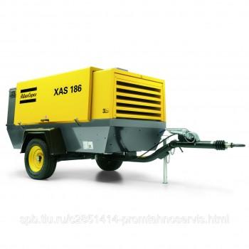 Дизельный передвижной компрессор Atlas Copco XAS 186 Dd