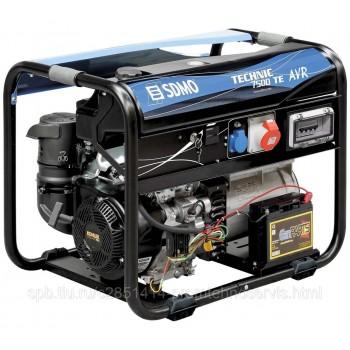 Бензиновый генератор SDMO TECHNIC 7500 TE AVR с АВР