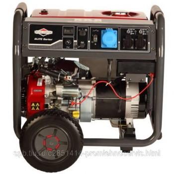 Бензиновый генератор Briggs & Stratton Elite 7500 EA