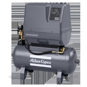 Поршневой безмасляный компрессор Atlas Copco LFx1,0 1PH