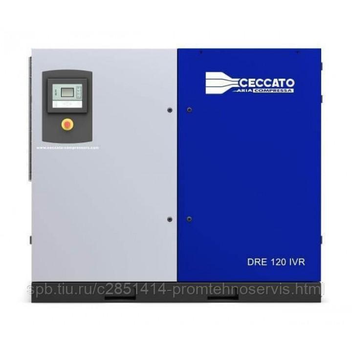 Винтовой электрический компрессор Ceccato DRE 120 IVR H