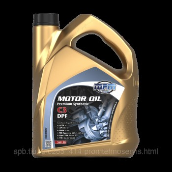 Масло моторное 5W-30 MPM Premium Synthetic C3 DPF 5L