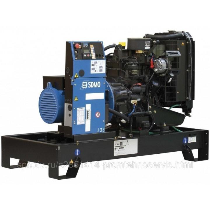 Дизельный генератор SDMO J33K