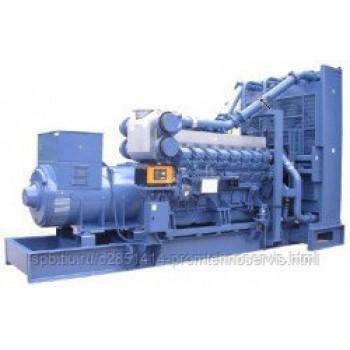 Дизельный генератор Mitsubishi MGS0500B (S6R-PTA) с АВР