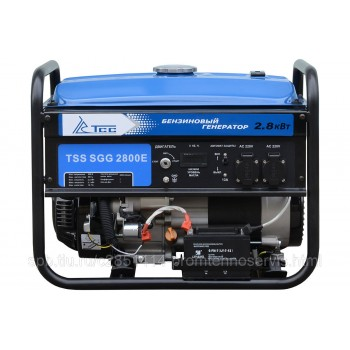 Бензиновый генератор ТСС SGG 2800E