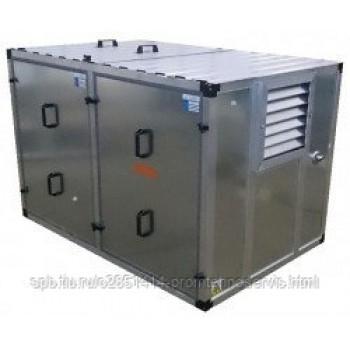 Бензиновый генератор Atlas Copco QEP R6.5 в контейнере с АВР