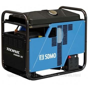 Бензиновый генератор SDMO Technic 15000 TE AVR с АВР