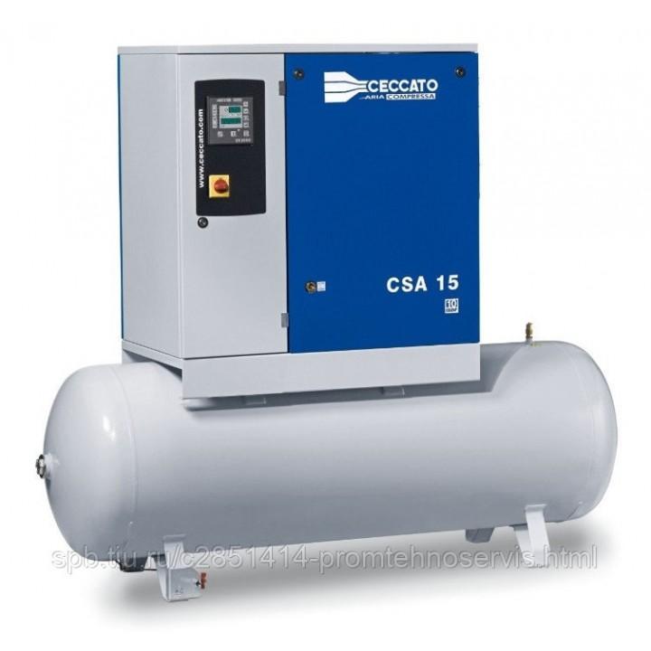 Винтовой электрический компрессор Ceccato CSA 15/10-500