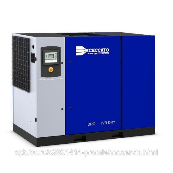 Винтовой электрический компрессор Ceccato DRC 60 DRY IVR