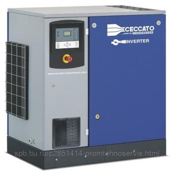 Винтовой электрический компрессор Ceccato DRA15/13 400/50 IVR на раме