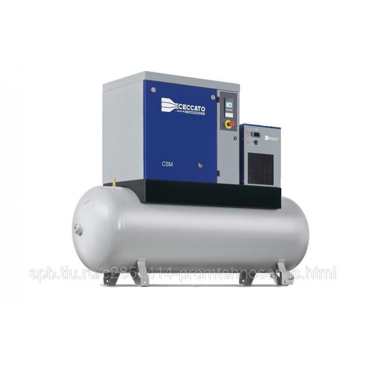 Винтовой электрический компрессор Ceccato CSM 15/8 DX-500L