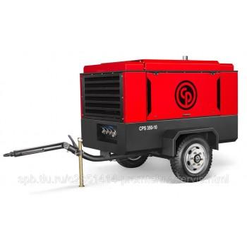 Передвижной компрессор Chicago Pneumatic CPS350-10 на шасси