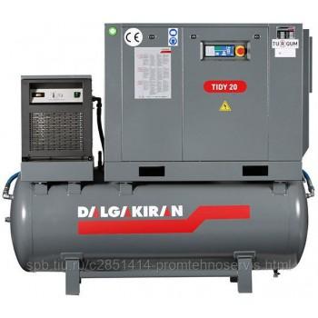 Винтовой компрессор DALGAKIRAN Tidy 20-10 500L Compact