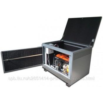 Дизельный генератор Hyundai DHY 8000LE в контейнере с АВР