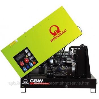 Дизельный генератор Pramac GBW 10 Y в кожухе с АВР