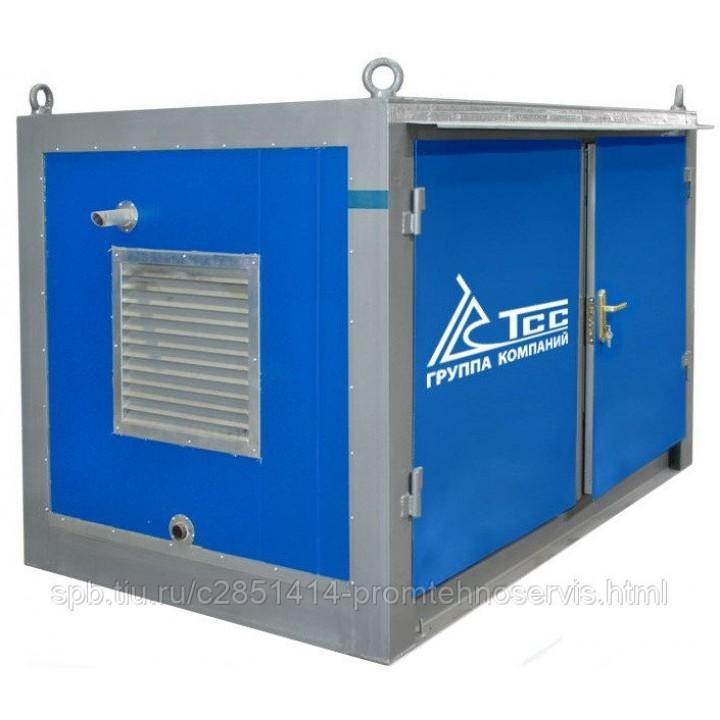 Дизельный генератор SDMO T 12K в блок-контейнере ПБК 2 с АВР