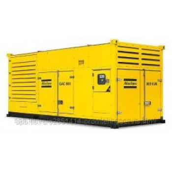 Дизельный генератор Atlas Copco QAC 800 с АВР