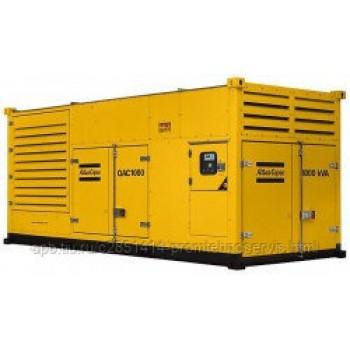 Дизельный генератор Atlas Copco QAC 1000 с АВР