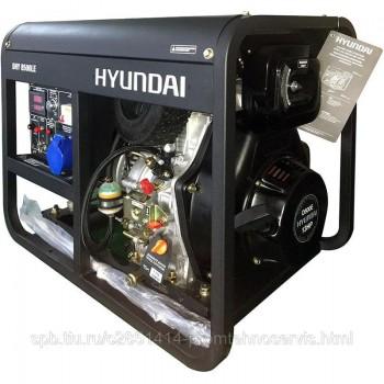 Дизельный генератор Hyundai DHY 8500LE с АВР