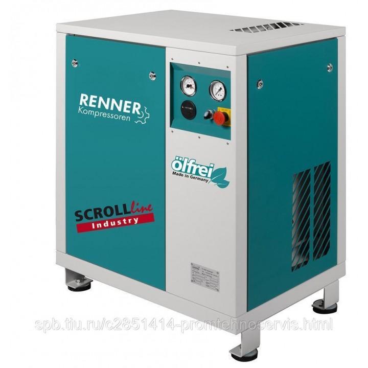 Винтовой безмасляный компрессор RENNER SL-I 7,5