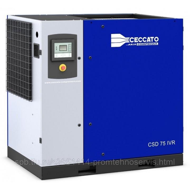 Винтовой электрический компрессор Ceccato CSD 75 IVR H