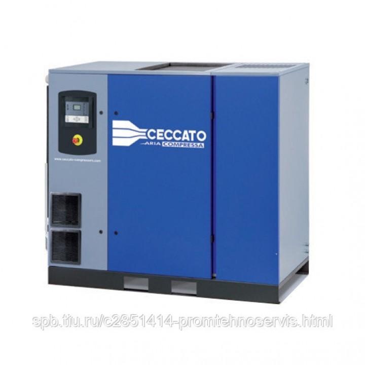 Винтовой электрический компрессор Ceccato DRB40 IVR D 12,5 CE 400 50 с осушителем