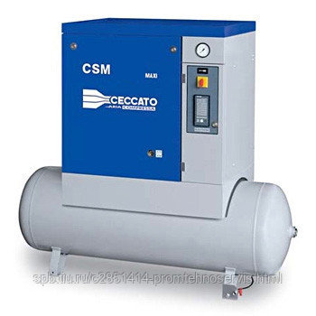 Винтовой электрический компрессор Ceccato CSM 15/13 X-500