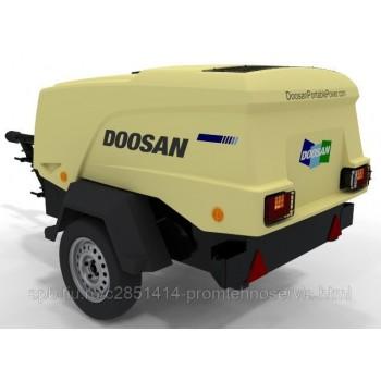 Передвижной компрессор Doosan 7/31E