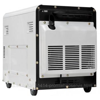 Дизельный генератор Hyundai DHY 8000SE-3 с АВР