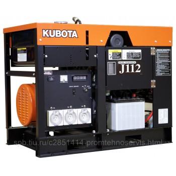 Дизельный генератор Kubota J 112 с АВР