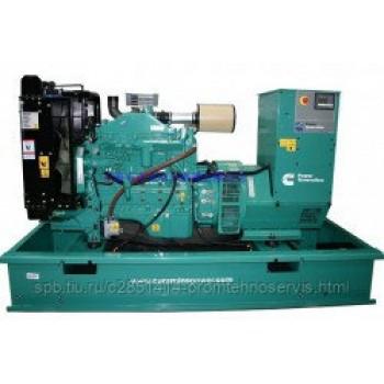 Дизельный генератор Cummins C110D5 с АВР